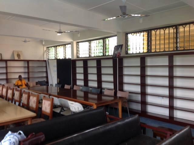 AMOSA UK Renovates Library