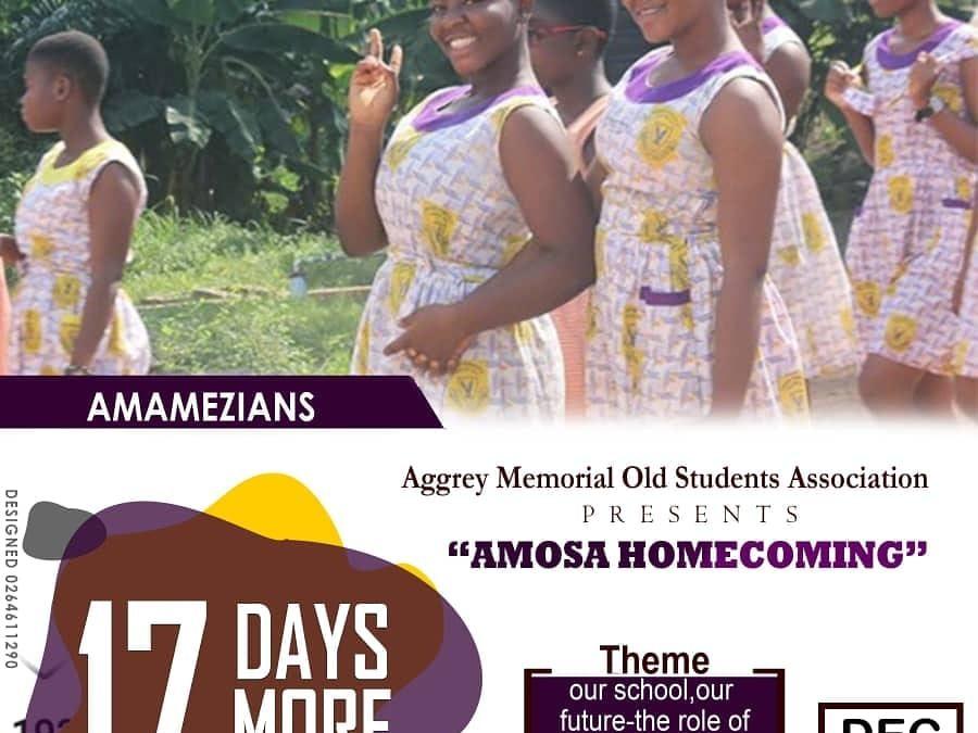 AMOSA Homecoming 2018 – 17 Days More